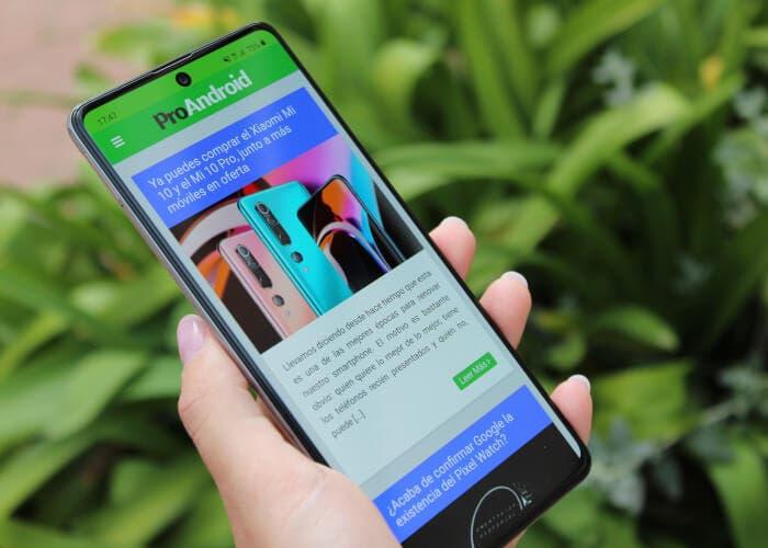 Análisis del Samsung Galaxy A71: un teléfono que cumple en todo