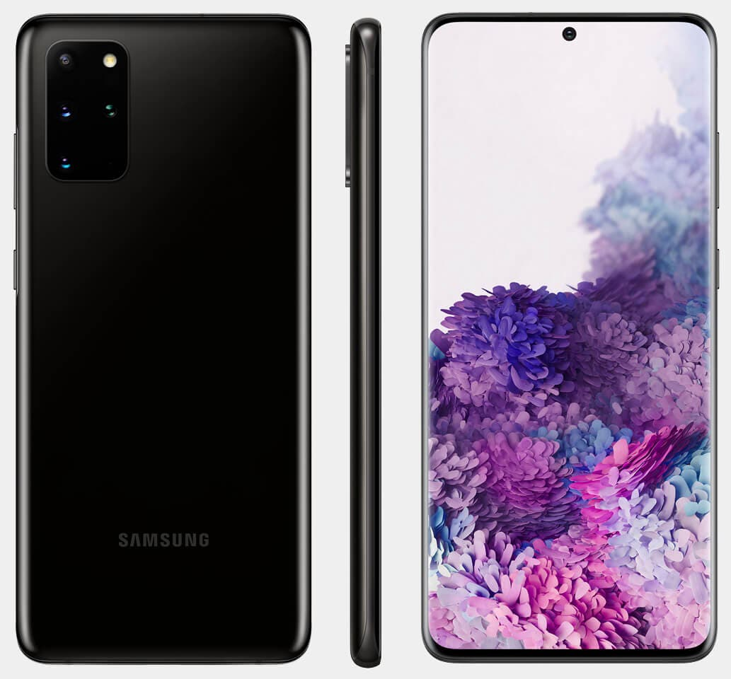 Samsung Galaxy S20+ Negro