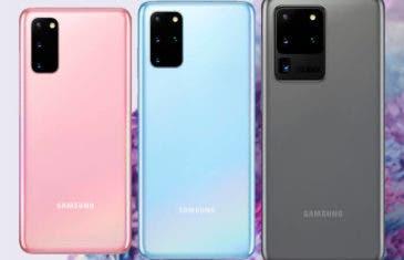 La pantalla de los Galaxy S20 puede funcionar a 96 Hz y es muy fácil conseguirlo