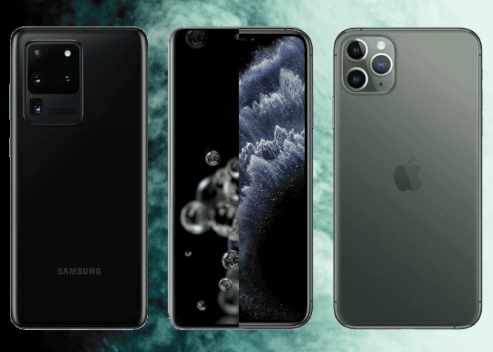 Samsung Galaxy S20 Ultra vs iPhone 11 Pro Max: comparativa de características