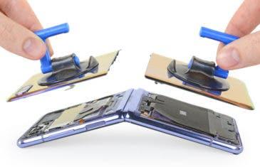 Desmontaje del Samsung Galaxy Z Flip: más fácil de reparar que el Motorola RAZR