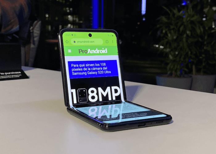 La pantalla del Galaxy Z Flip se dejará ver en más móviles plegables de otras marcas
