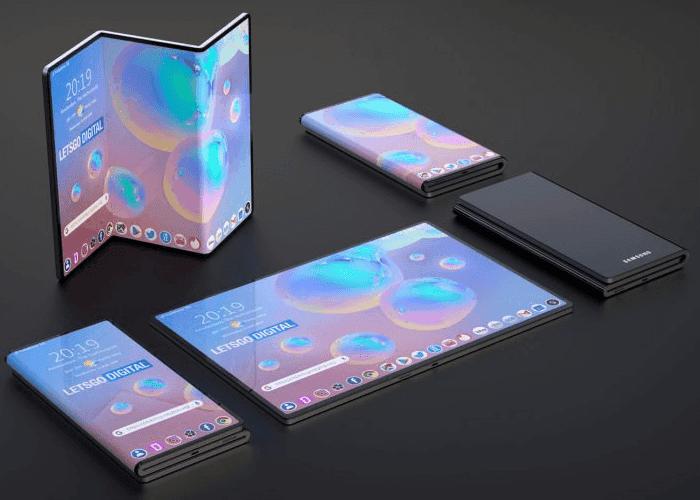 Samsung asegura que es capaz de hacer móviles con más pliegues