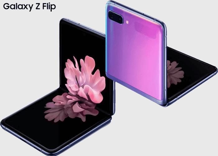Samsung Galaxy Z Flip oficial