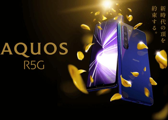 Sharp AQUOS R5G: cuando la gama alta tiene dos notch