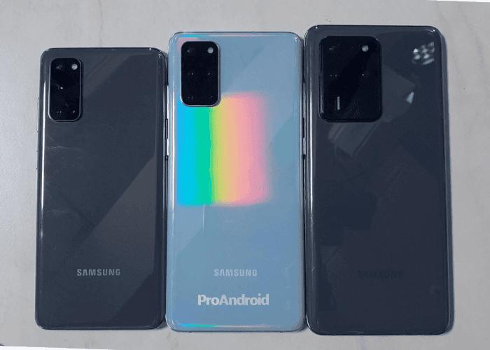 Samsung podría activar los 120 Hz en resolución QHD+ para los Galaxy S20
