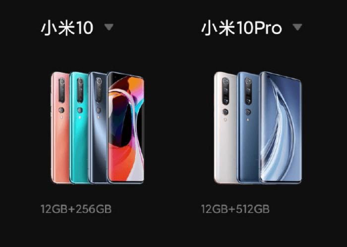 Filtradas todas las características del Xiaomi Mi 10 y Mi 10 Pro