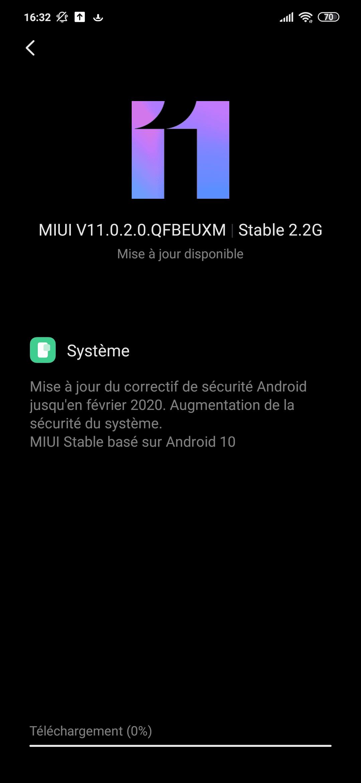 Xiaomi Mi 9 SE Android 10