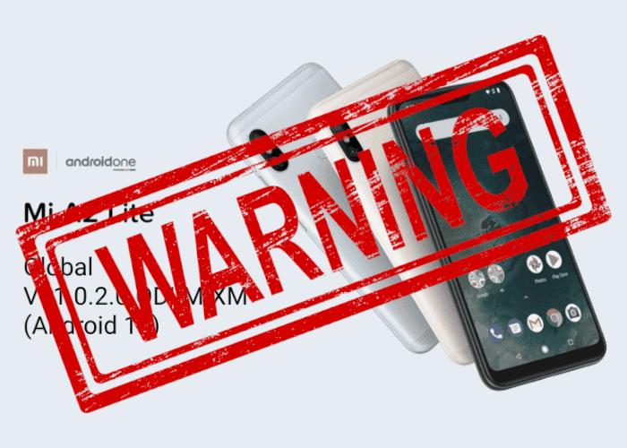 Xiaomi pausa la llegada de Android 10 para el Xiaomi Mi A2 Lite: soluciona el error si estás afectado