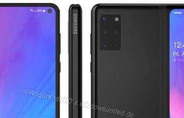 ¿Será así el Samsung Galaxy Fold 2? ¡Ojalá que sí!