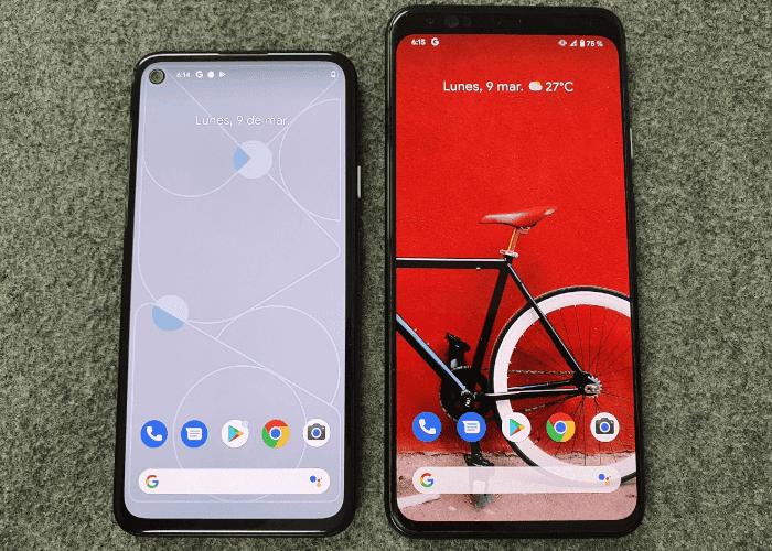 Google Pixel 4a vs Google Pixel 4 XL