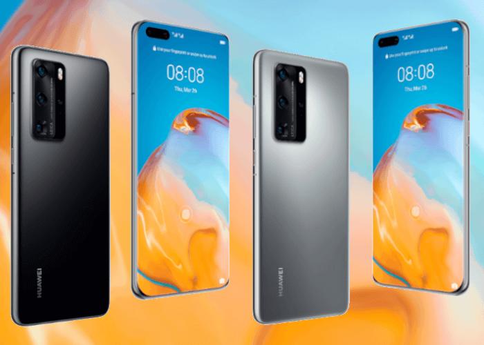 Filtradas las características completas del Huawei P40 y del P40 Pro