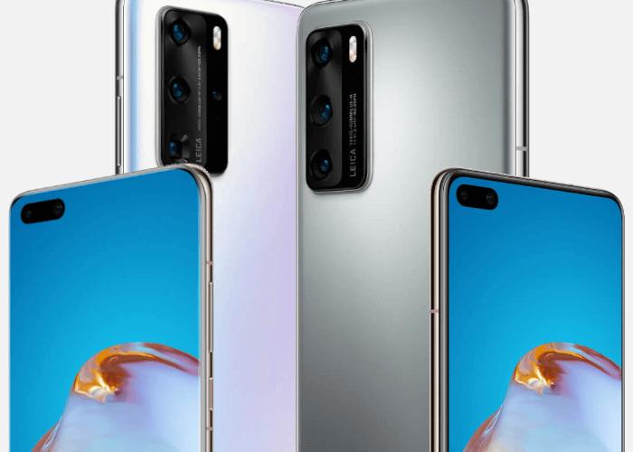 Huawei P40 y P40 Pro oficiales