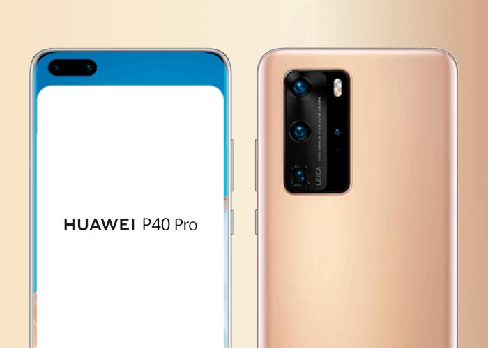 El Huawei P40 y el P40 Pro muestran su pantalla en nuevas imágenes