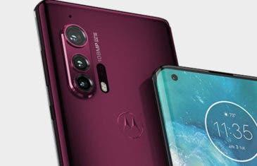 Este es el increíble diseño del Motorola Edge+, ¿el gama alta más bonito del momento?