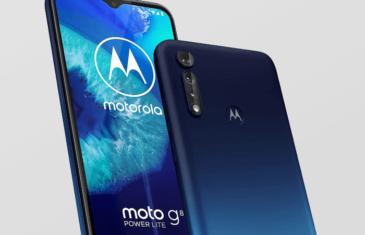Motorola Moto G8 Power Lite: imágenes, características y precio