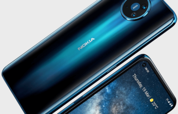 Primera imagen de prensa del Nokia 8.3 el primer móvil 5G de Nokia