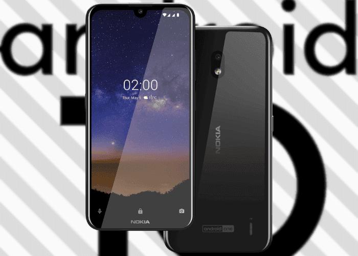Cumpliendo con el calendario, el Nokia 2.2 comienza a recibir Android 10