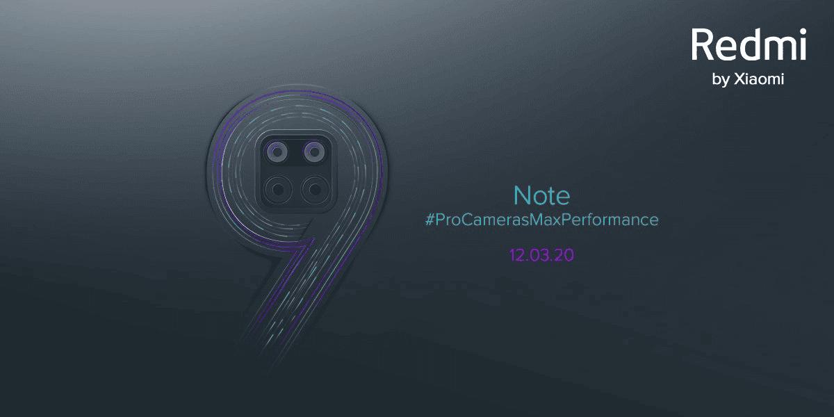 Redmi Note 9 fecha