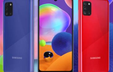 Samsung Galaxy A31: mucha batería, pantalla OLED y procesador MediaTek