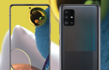 Esta es la primera imagen del Samsung Galaxy A51 5G, pero no te sorprenderá