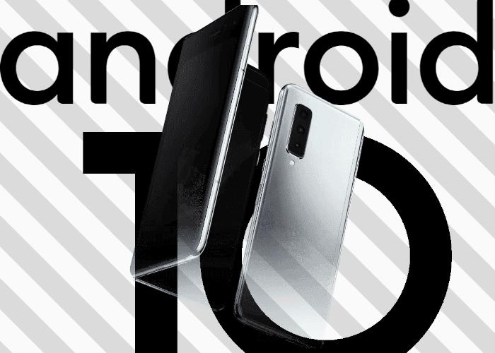 El Samsung Galaxy Fold comienza su actualización a Android 10