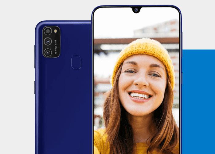 Amazon confirma el diseño y características del Samsung Galaxy M21