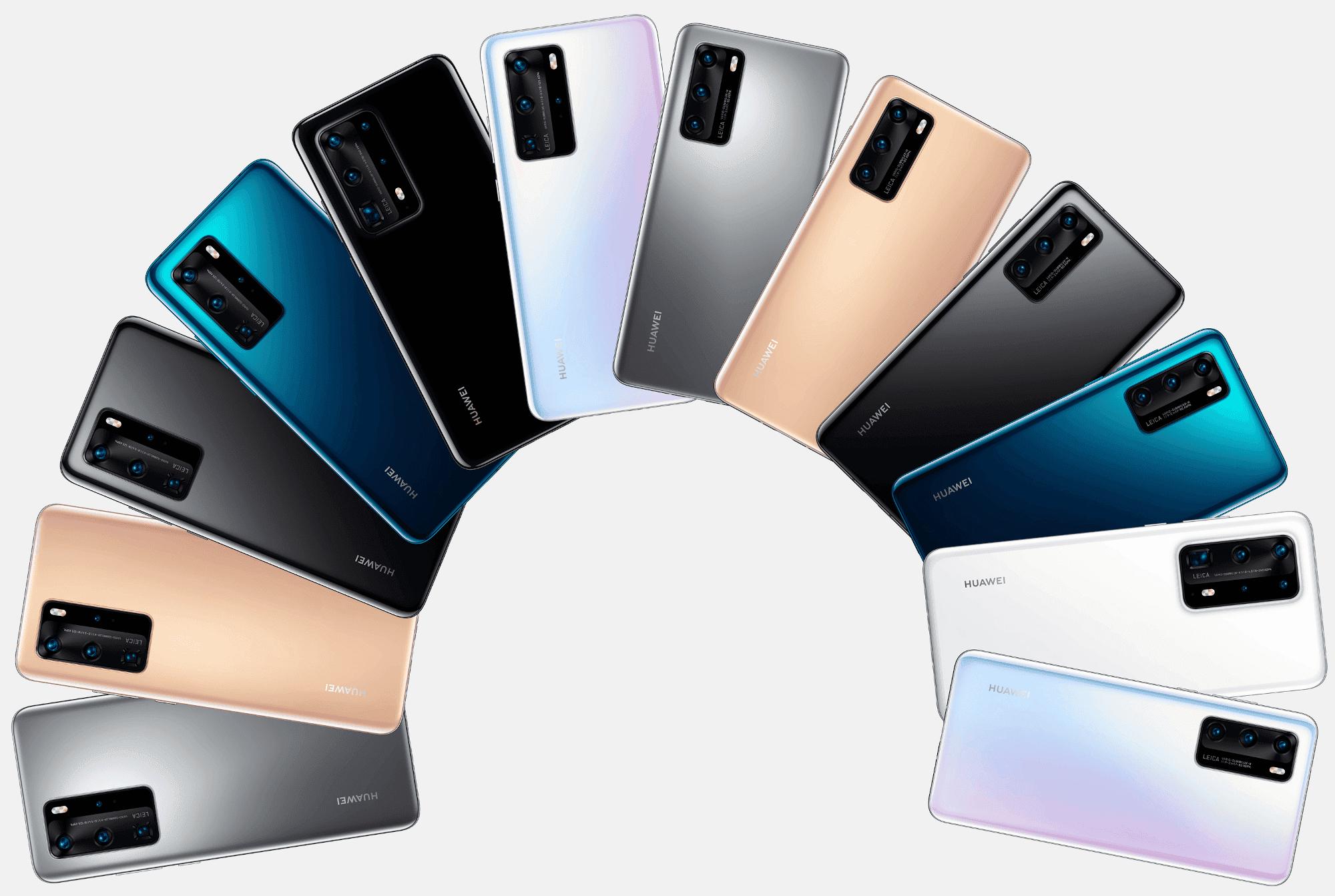 Todos los Huawei P40