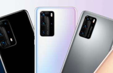 Todos los Huawei P40 que serán presentados la semana que viene en una imagen
