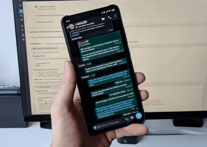 El modo oscuro de WhatsApp llega a todo el mundo en su versión estable