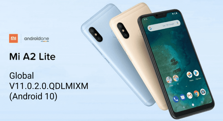Xiaomi Mi A2 Lite Android 10