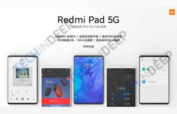 La mejor tablet Android ya tiene nombre: Redmi Pad 5G