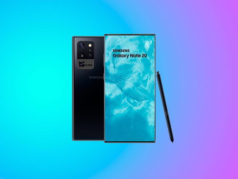 Diseño del Samsung Galaxy Note 20: ¿dónde estará la cámara delantera?