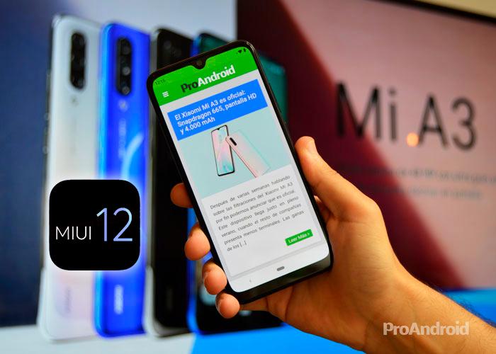 MIUI 12: todos los dispositivos compatibles, por el momento