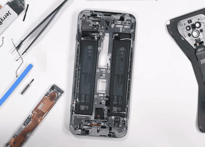 El Black Shark 3 Pro es el móvil más raro que verás por dentro