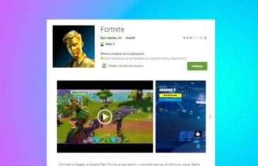 Fortnite llega a Google Play de forma oficial