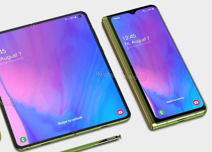 Samsung Galaxy Fold 2 concepto