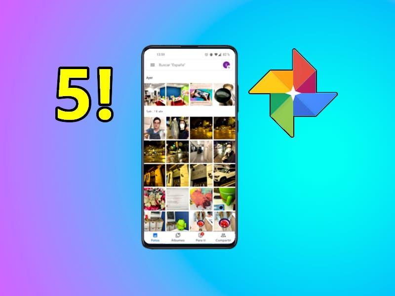 5 funciones de Google Fotos que deberías tener configuradas