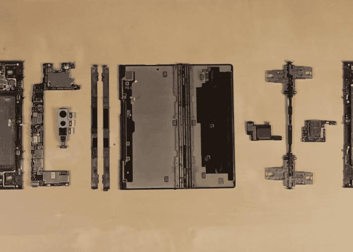 Arreglar el Huawei Mate Xs será toda una pesadilla
