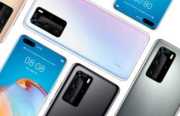 Los Huawei P40 tienen pantallas OLED de Samsung, pero solo en unos pocos