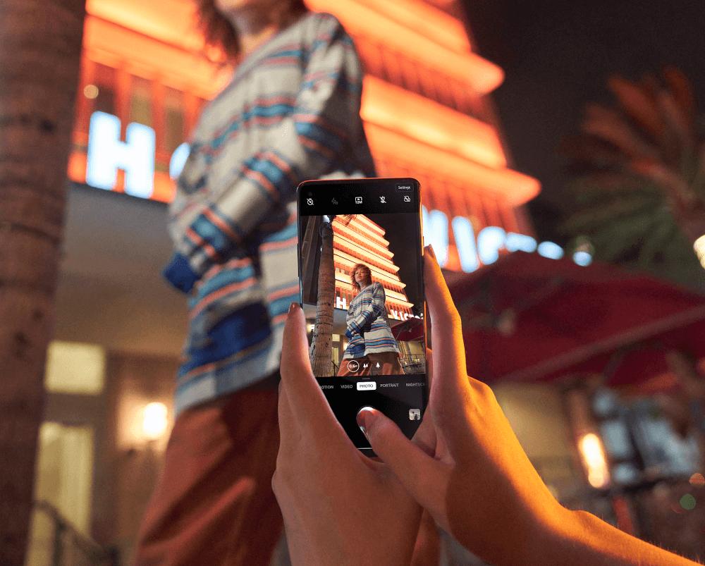 OnePlus 8 cámara