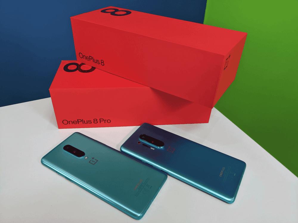 OnePlus 8 y 8 Pro