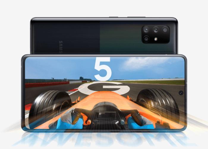 Los Samsung Galaxy A51 5G y A71 5G son oficiales y muy parecidos