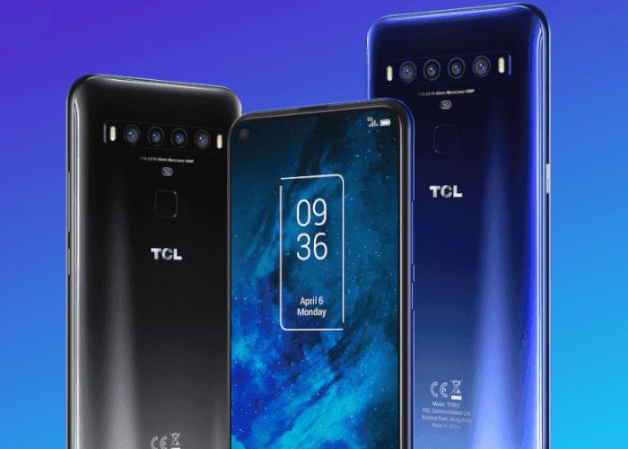 Así es el TCL 10 5G, el móvil 5G más barato presentado por el momento