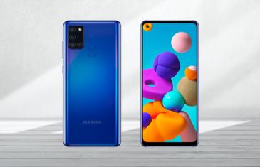 Samsung Galaxy A21s oficial: el más barato de la serie Galaxy A