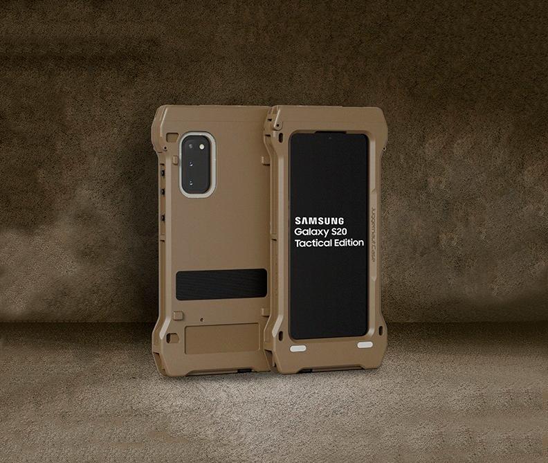 Este es el móvil más espectacular de Samsung: Galaxy S20 Tactical Edition