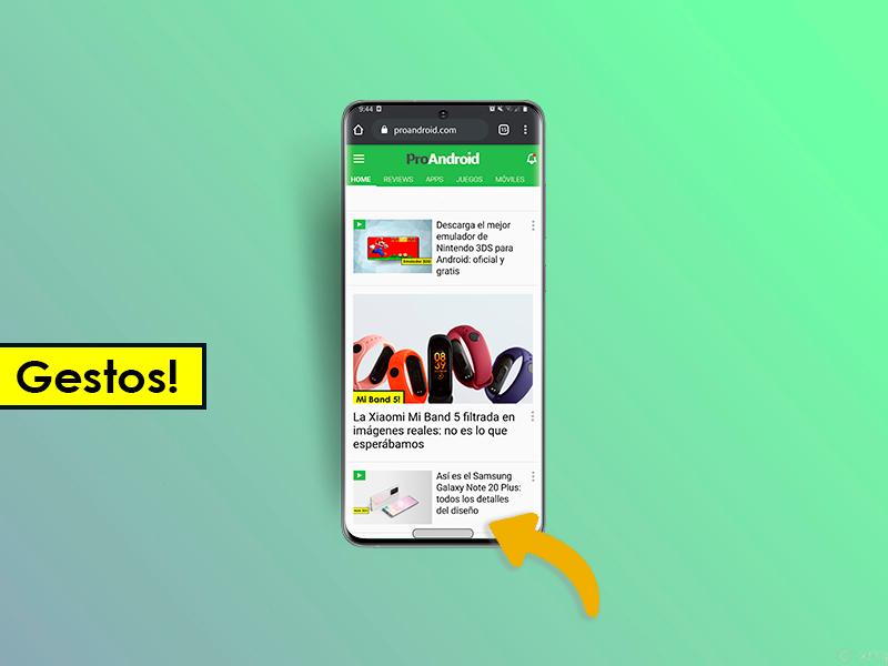 Cómo tener los gestos de Android en cualquier móvil [Sin Root]