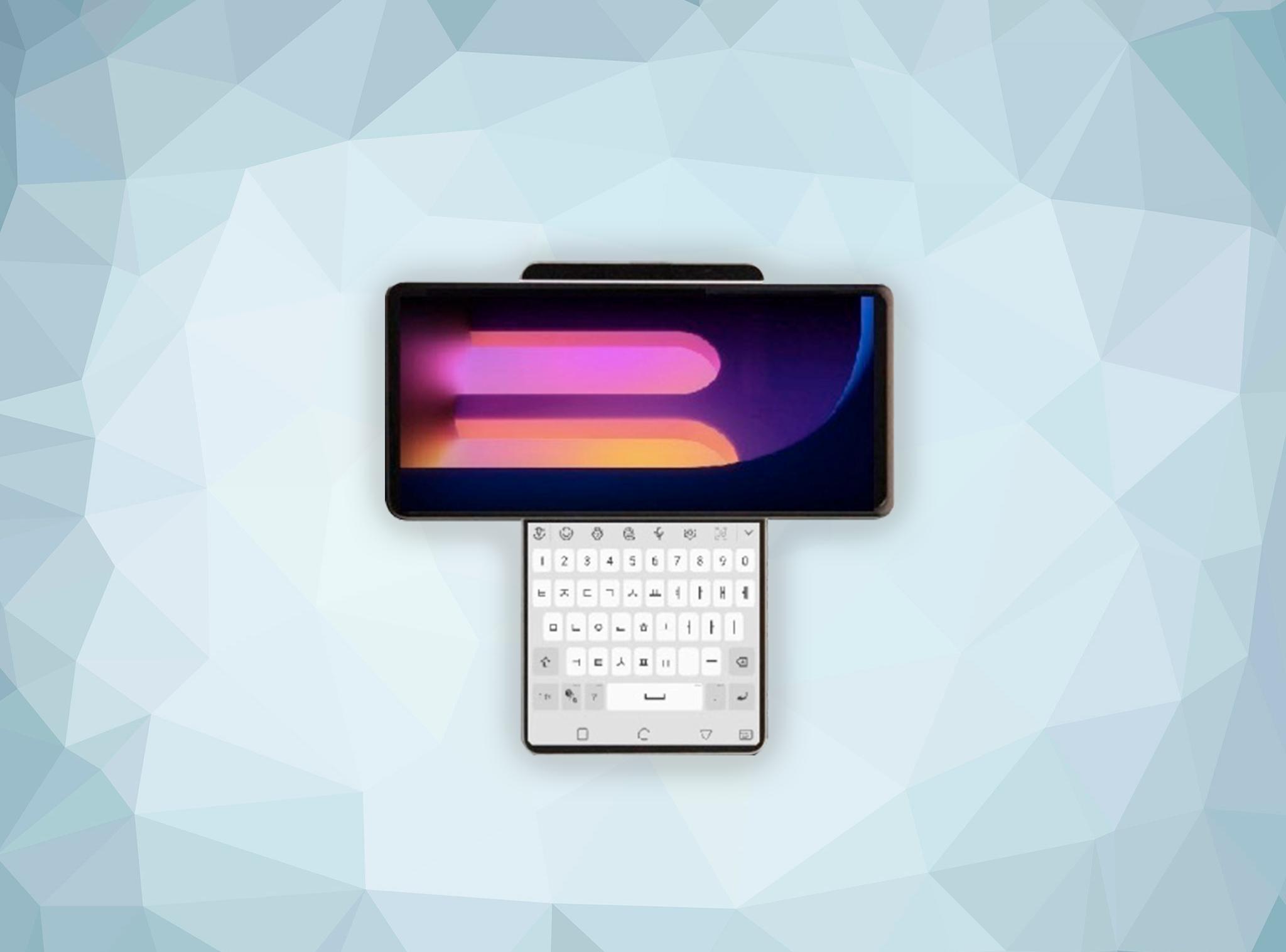 La mayor locura de LG: así sería el móvil con pantalla giratoria