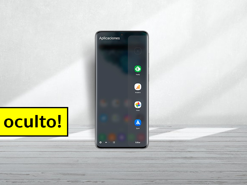 Cómo tener el menú edge de los Samsung en cualquier móvil Android