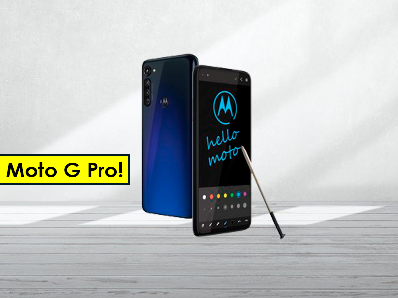 Motorola Moto G Pro: el nuevo gama media con Stylus y 4 cámaras